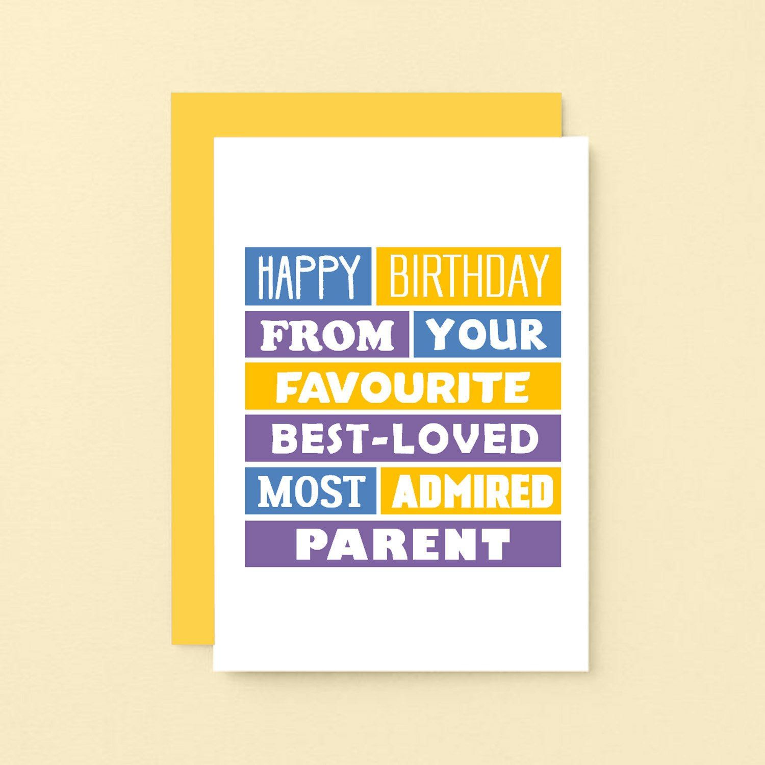 Funny birthday card son birthday card for daughter