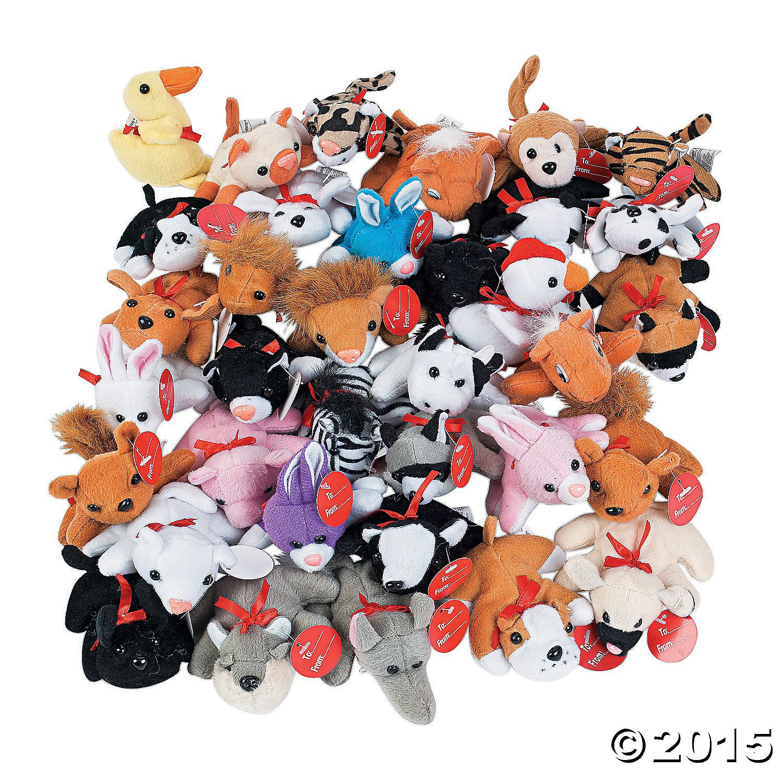 Exchange Mini Stuffed Animal Assortment Plush animals