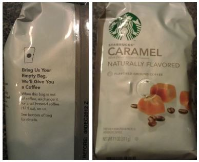 FREE Starbucks Coffee With Empty Coffee Bag Check Out What I Found