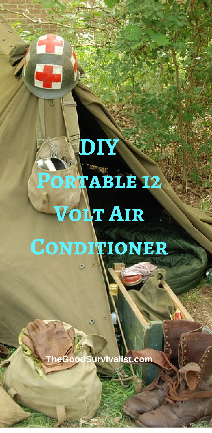 DIY Portable 12 Volt Air Conditioner Will Keep Your Tent