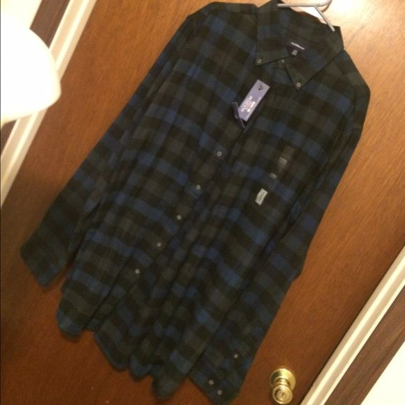 NWT Men's TALL XL Plaid Soft Fannel Shirt $3,$4,$5 ITEMS MUST BE BUNDLEDPrices in this Closet are LOW AND FIRM. No bargaining needed Makes it so much easier to just offer low low prices from the start ASK ALL THE QUESTIONS YOU WANT BEFORE PURCHASING. BUYER AND SELLER AGREE ALL SALES ARE FINAL. TRADE VALUE IS $5.00 HIGHER THAN LISTED SALE PRICE!! Croft & Barrow Tops Button Down Shirts