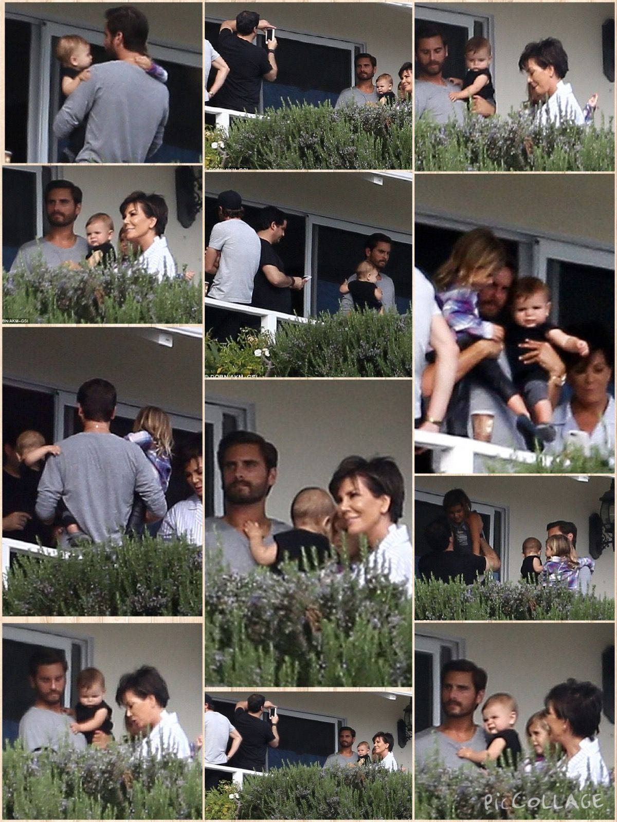 Kris Jenner Brought Her Grandchildren Reign Penelope And Mason To Visit Their Father Scott Disick In Rehab In Scott Disick Jenner Sisters Kylie Kristen Jenner