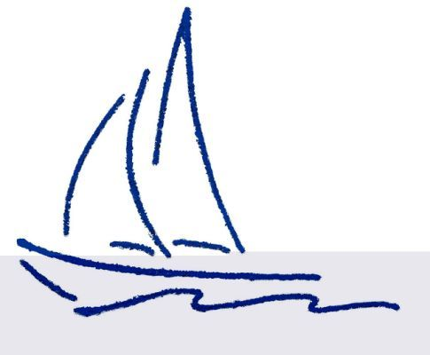 Sailboat Drawing Sailboat Drawing Sailboat Tattoo Sailboat