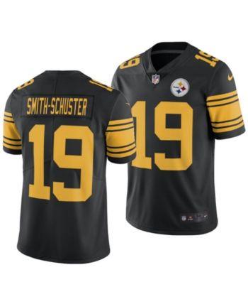 b91e4548e Nike Men's Juju Smith-Schuster Pittsburgh Steelers Limited Color Rush Jersey  - Black XL