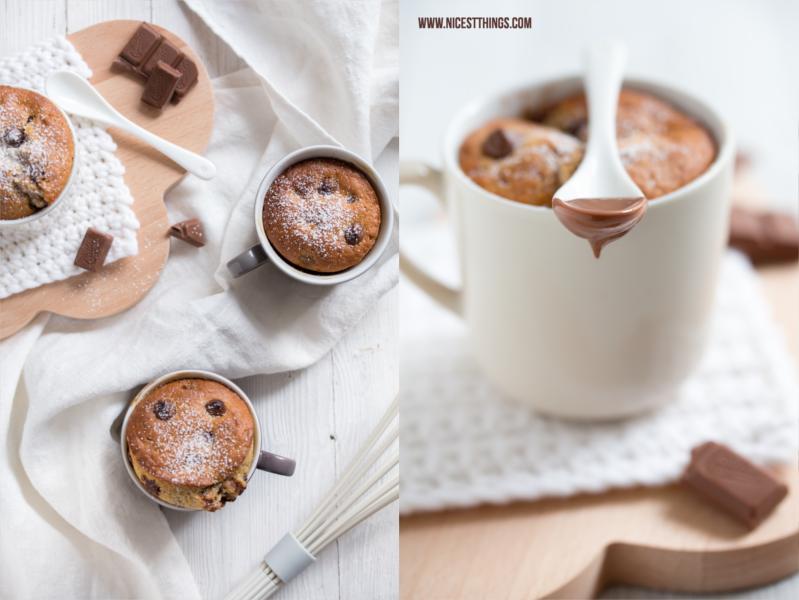 Tassenkuchen: Chocolate Chai Mug Cakes