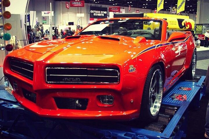 Really really want one of these! Camaro wit GTO Judge kit