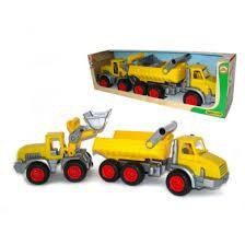 Bildergebnis für ConsTruck 3-Achs-Kipper gelb/silbe