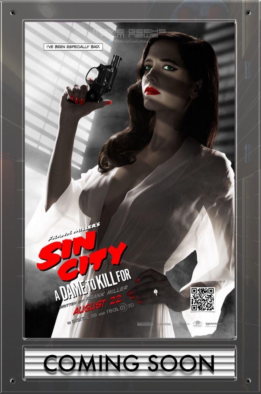 Moviegeeksfilmnews Eva Green Sin City Sin City 2 Eva Green