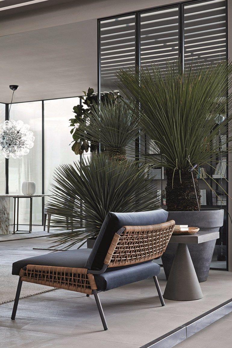 fauteuil avec revêtement amovible zoe by meridiani | flower