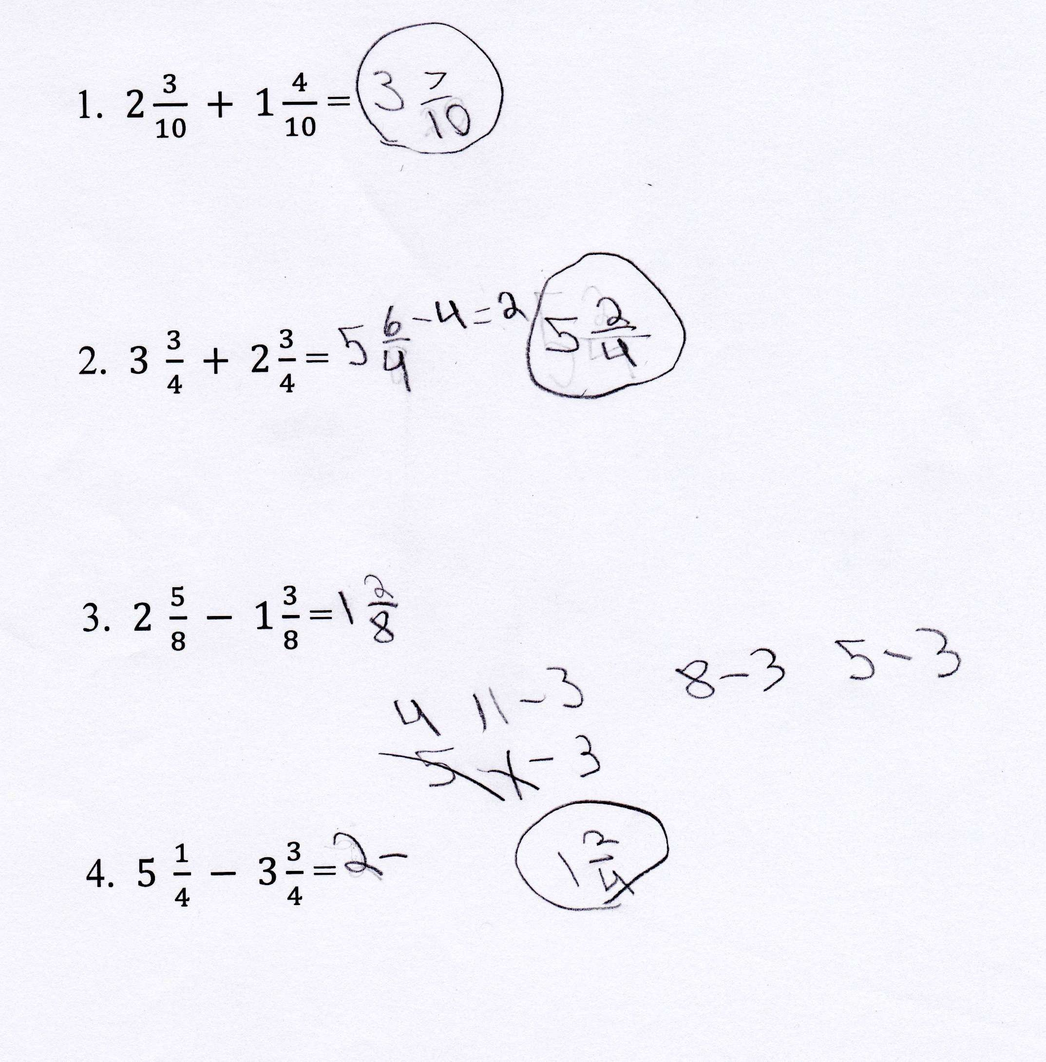 3 Free Math Worksheets Third Grade 3 Addition 3 Add 4 3