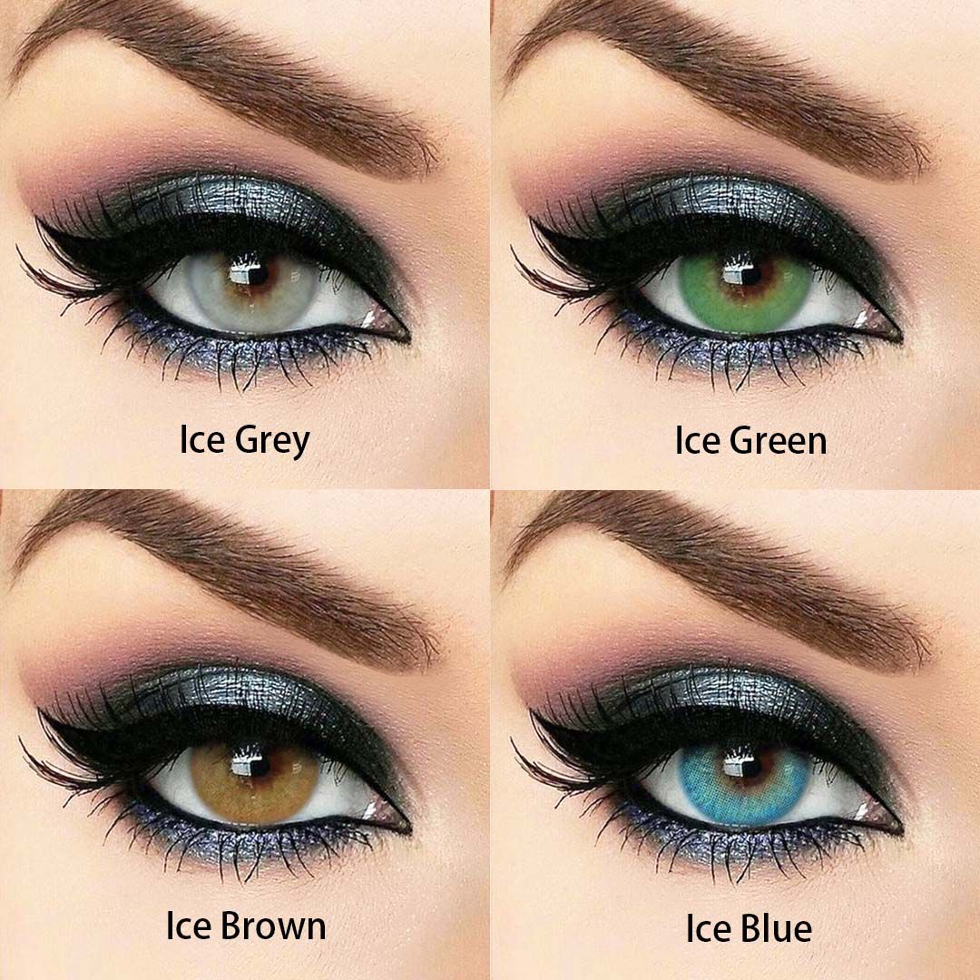Vcee Ice Green Colored Contact Lenses Contact lenses