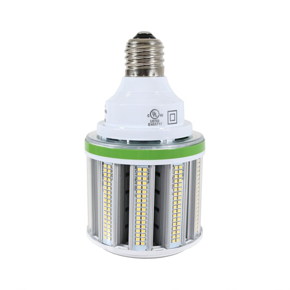 54 Watt Equivalent White Led Corn Light Bulb 5000k 7020 Lumens Mogul E39 Base 175 Watt 250 Watt Metal Halide 1 Bulb In 2020