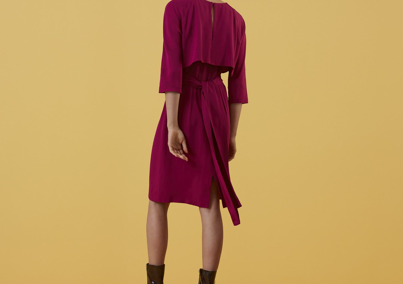Oakbury Drape Back Dress - Finery London | UK