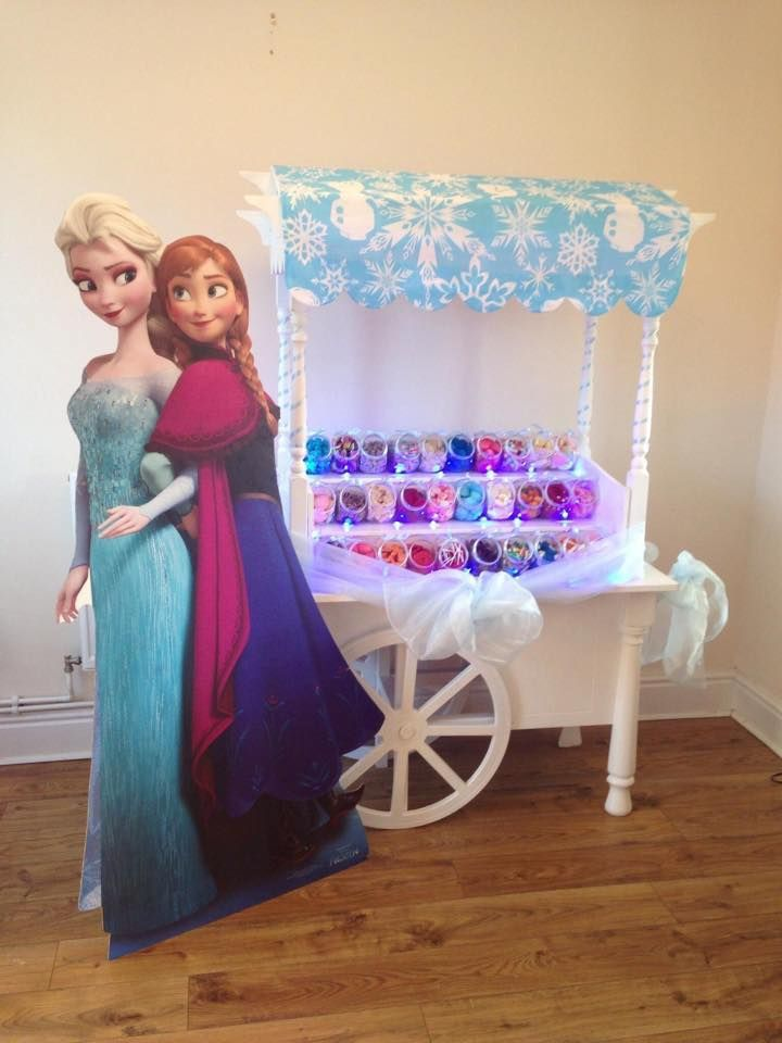 Frozen Candy Cart Hire Rotherham Sheffield Barnsley Doncaster and