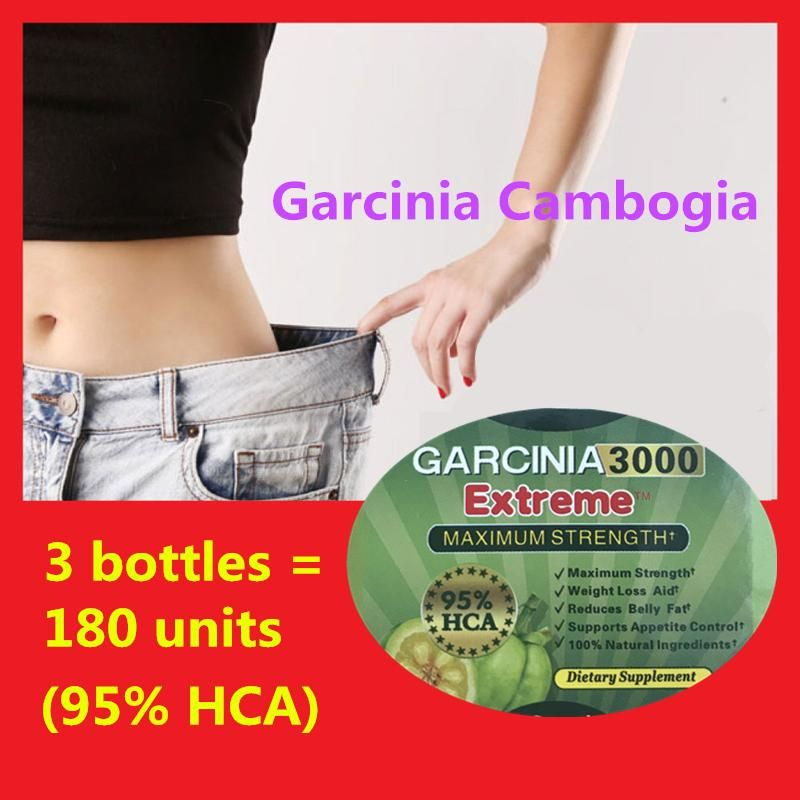 5359969c6 3 bottles   180 units Pure Garcinia cambogia weight loss diet patch Burn Fat  ( 95% HCA ) Slimming for women