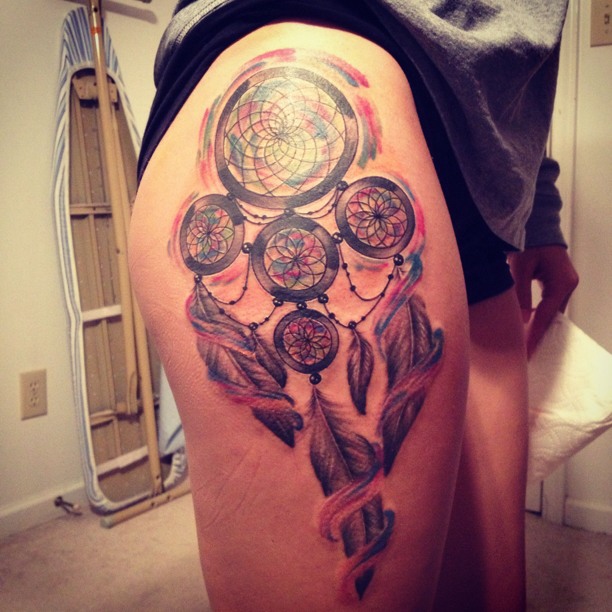My dreamcatcher tattoo. Done by Samantha Llanos-castrovinci at ...