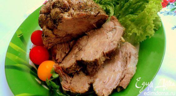 Открыла для себя отличный способ приготовления буженины в мультиварке. Мясо получается нежное, очень сочное, невероятно ароматное и вкусное!