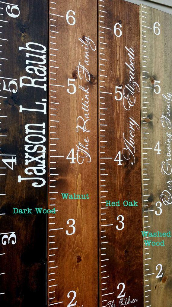 Ruler Growth Chart Kid Fundiy Height Chart Wooden Height