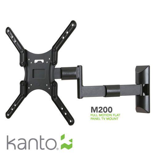 Kanto 26 55 Full Motion Tv Mount Flat Panel Tv Full Motion Tv Mount Mounted Tv