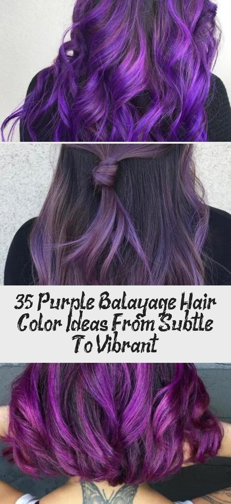 35 lila balayage haarfarbe ideen von subtil bis lebendig