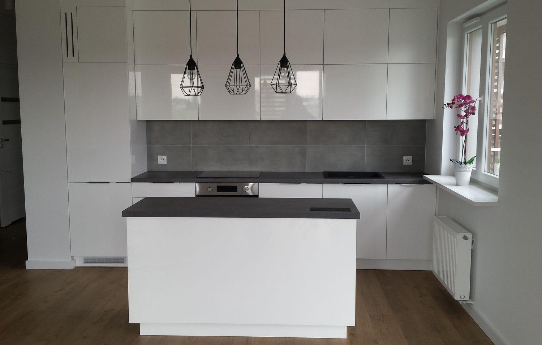 Adwid Piaseczno Swiat Mebli Na Wymiar Kuchnie Blat Egger F641 Chromix Antracyt Fronty Lakierowane Home Decor Kitchen Home