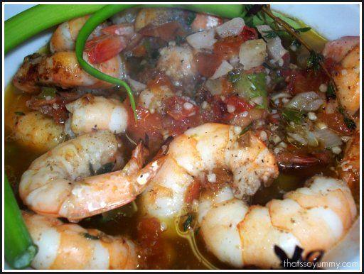 Fire Roasted Jerk Shrimp. Bahama Breeze inspired! #jerkshrimp