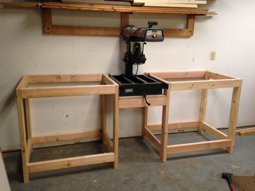 radial arm saw upgrades and work station woodshop in 2018