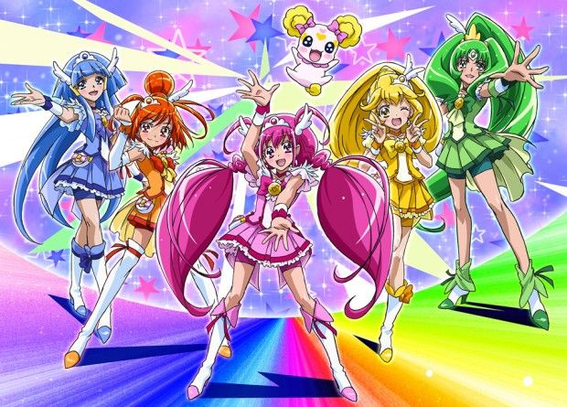 first look at netflix original glitter force glitter force characters glitter force candy glitter force