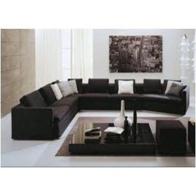 living room furniture  zen living rooms black white