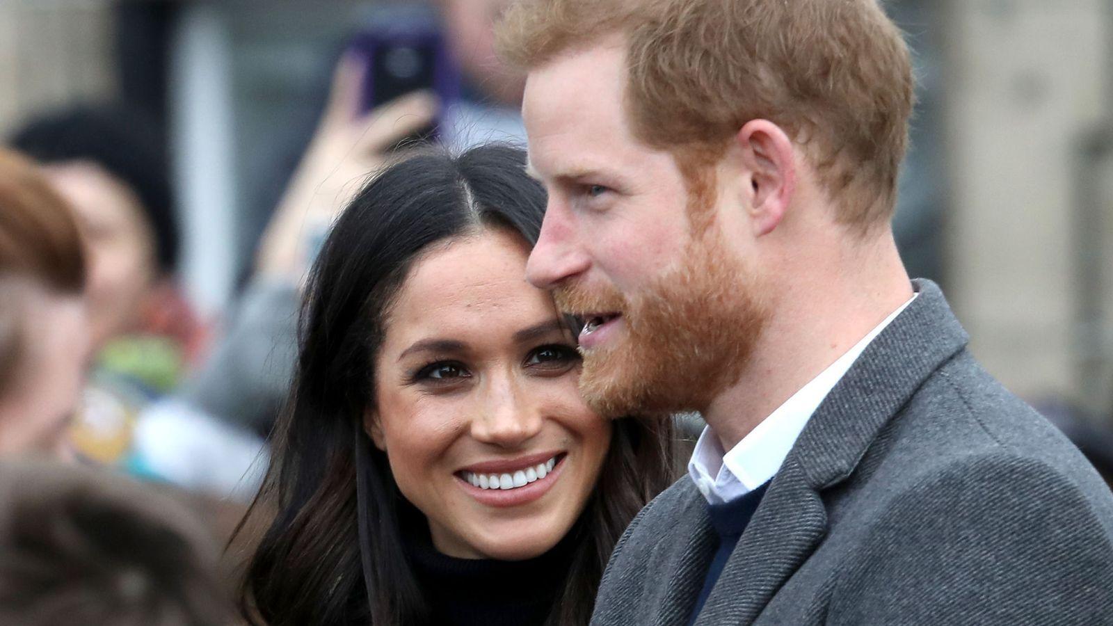 Prince Harry And Meghan Markle Wow Edinburgh Crowds Meghan Markle
