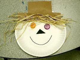 paper plate scarecrow & paper plate scarecrow | Fall Leaves u0026 Scarecrows | Pinterest ...