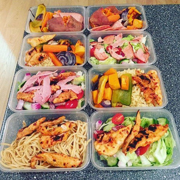 This is just 2 days of prep for @ph_personaltraining!! So vibrant and colorful I cant help but be craving awesome healthy food while looking at those meals! - Nutritional needs vary depending on individual health objectives. Your total guide to what YOU need can be found with @mealplanmagic! - ALL-IN-ONE TOOL & GUIDES -  Build Custom Plans & Set Nutrition Goals  BMR BMI & Max Rate Calculator  Get Your Macros by Body Type & Goal  Grocery Lists Automated to Weekly Needs  Accurate Cooking and…