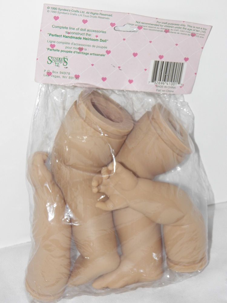 Syndees Dolls Arms and Legs Large