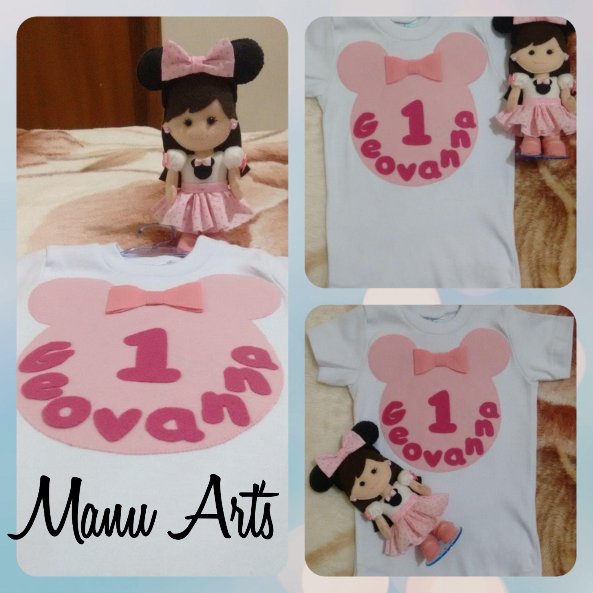 Body personalizado Minnie