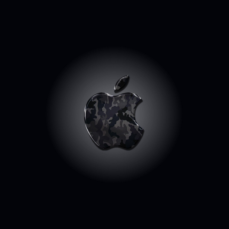 Iphone 壁紙 ロゴ 迷彩柄 ダークver Laggdogg Wallpapers Apple ロゴ アップルの壁紙 壁紙
