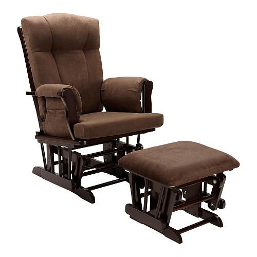Dorel Glider Rocker And Ottoman Espresso Babies R Us