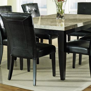 Wonderful Monarch Dining Table W/Marble Top By Steve Silver The Monarch Marble Top Dining  Table Provides A Classy Refined Look To Any Dining Room.