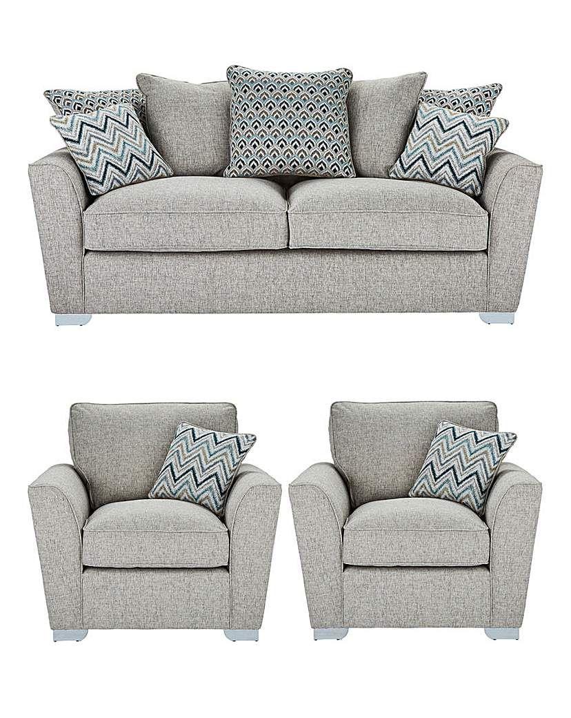 Cool Maya Three Seater Sofa Plus Two Chairs Two Seater Sofas Pabps2019 Chair Design Images Pabps2019Com