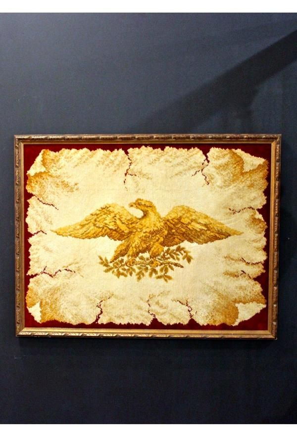 Vintage grand eagle wall decor | Wall decor, Rustic style and ...