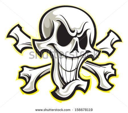stock-vector-skull-and-crossbones-156678119.jpg (450×398)