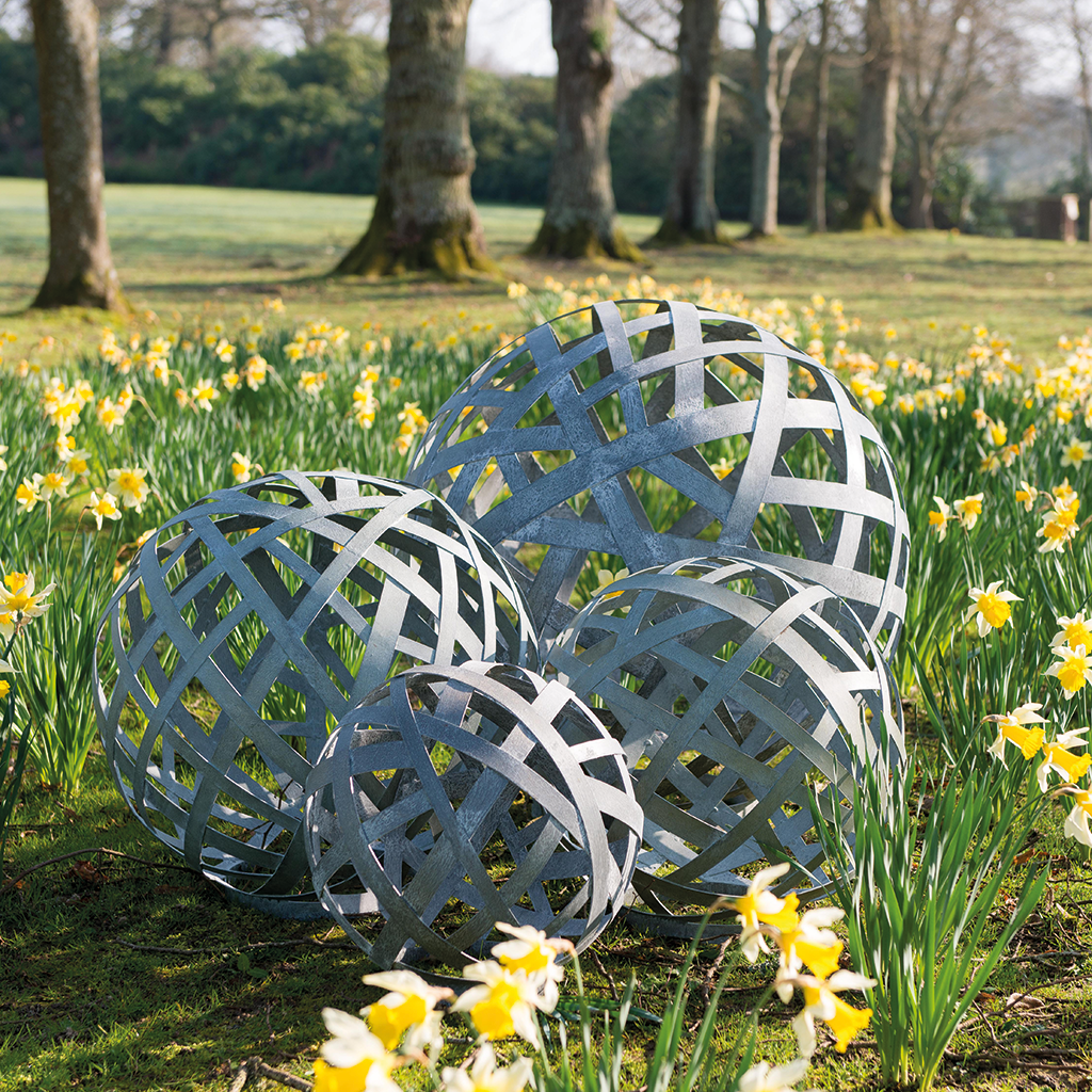 Lattice Balls | Garden Sculpture | Pinterest