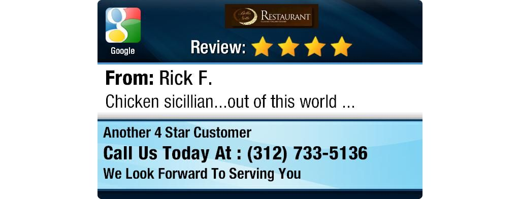 Chicken Sicillian Out Of This World Facebook Reviews Google