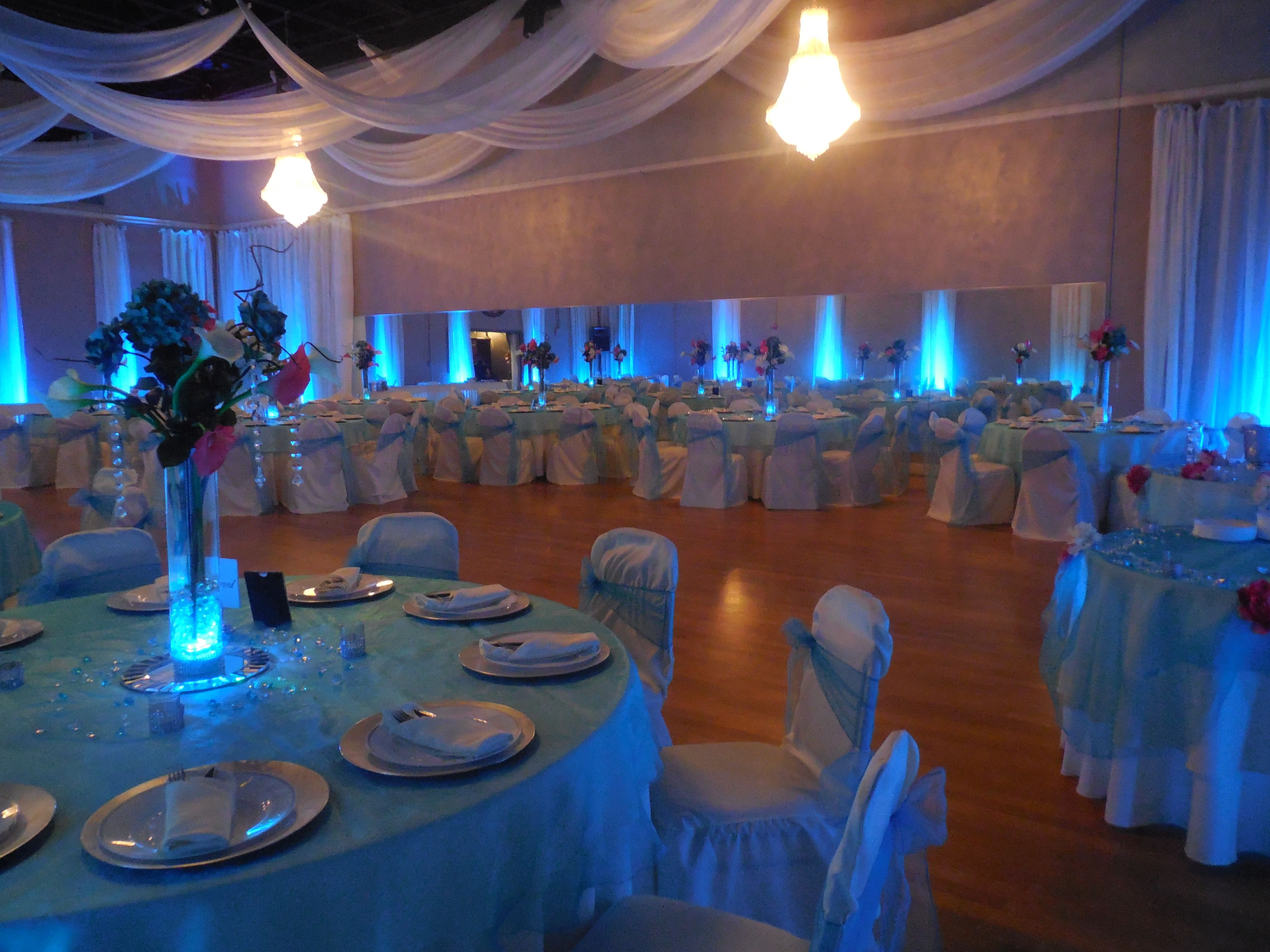 Baby blue color for wedding at the crystal ballroom 3 so beautiful baby blue color for wedding at the crystal ballroom 3 so beautiful orlando junglespirit Gallery