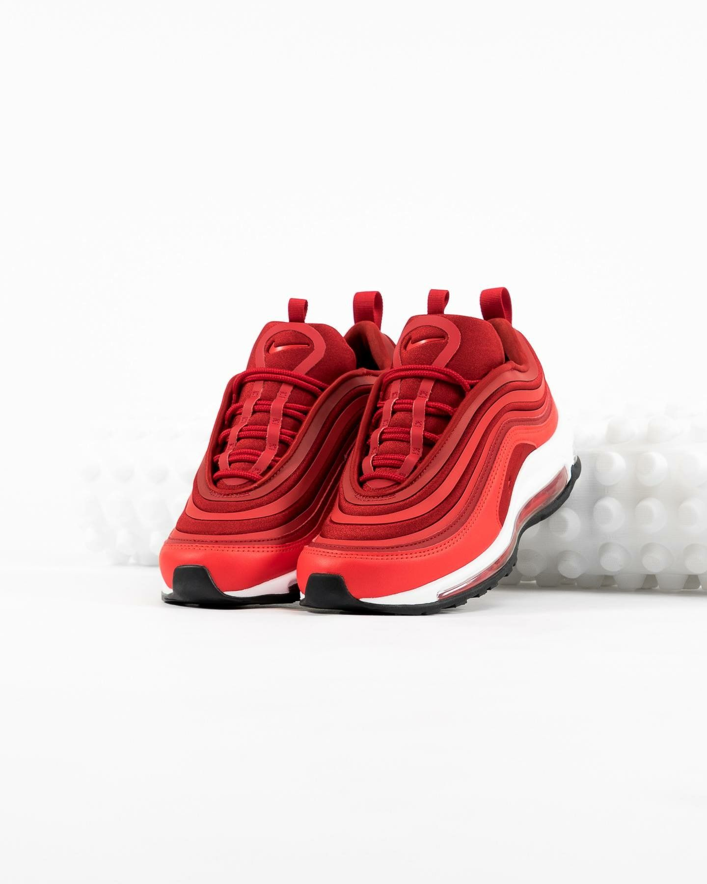 Nike Air Max 97 Ultra: Red | Nikes in 2019 | Red nike shoes