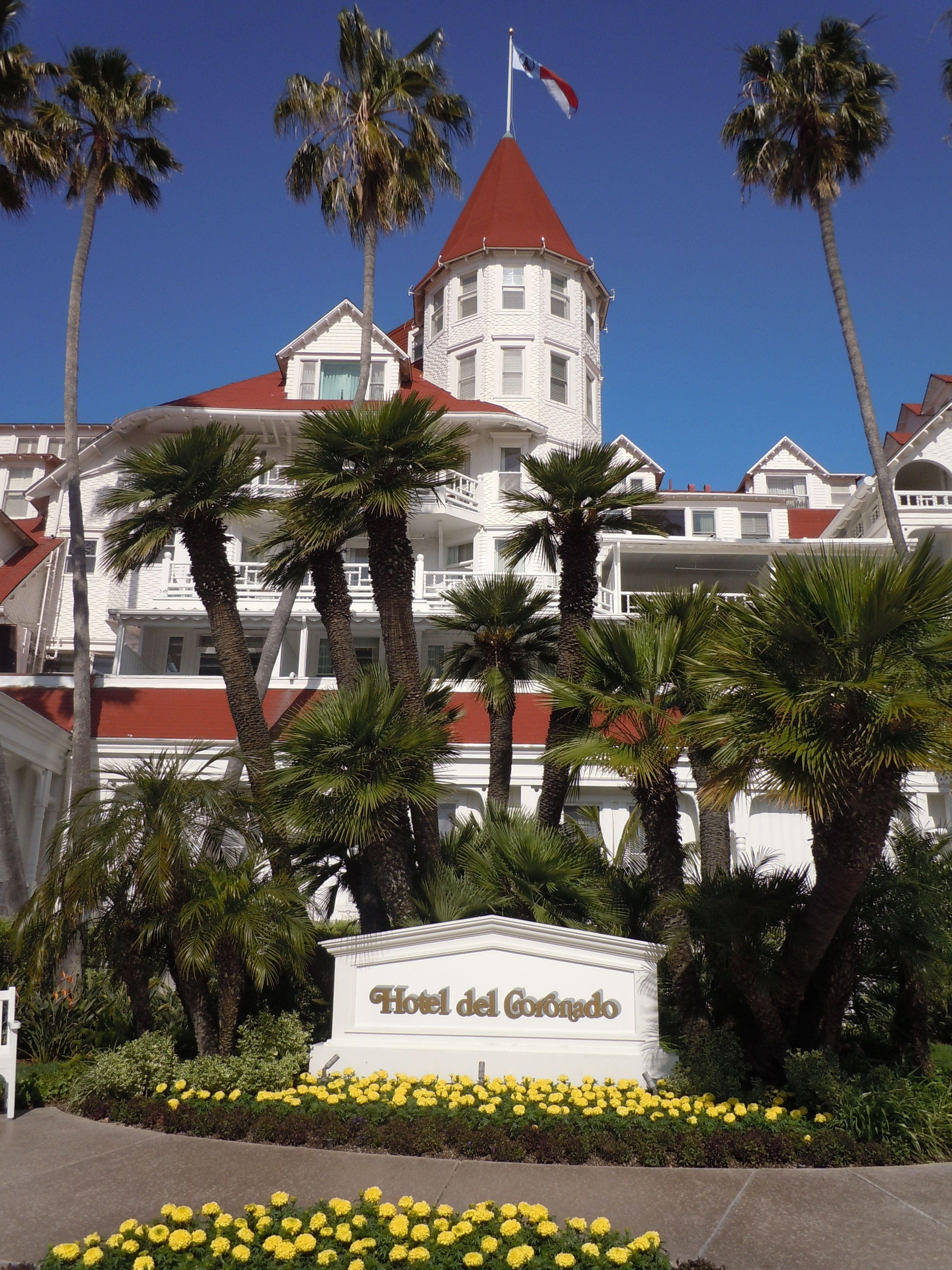 Coronado, CA Hotel Del Coronado: Located On 28