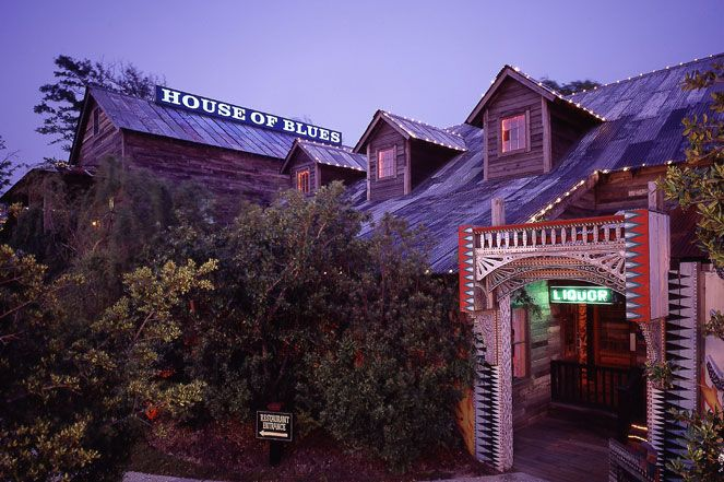 Live Music Dining At House Of Blues Myrtle Beach Resorts