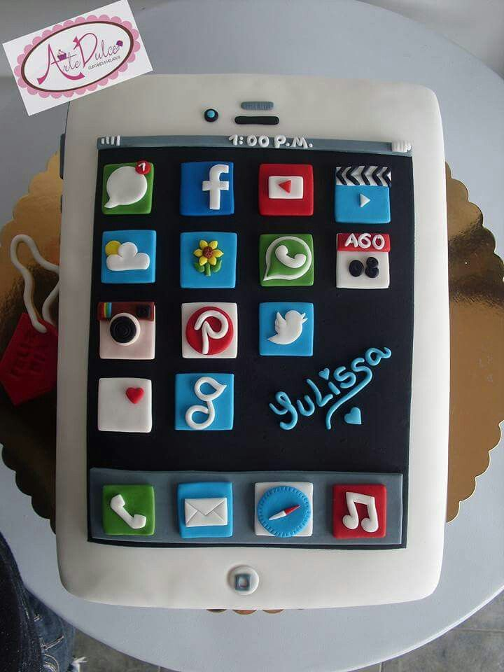 Iphone Cake Iphone Cake Birthday Cakes For Teens 16