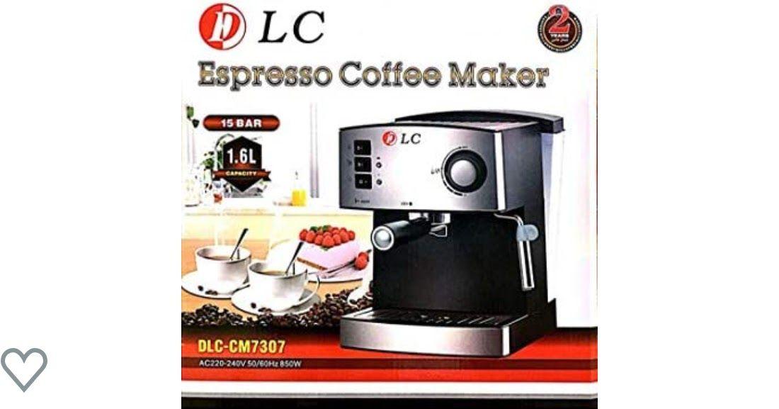 ماكينة تحضير قهوة اسبريسو وكابتشينو سعة 1 6 لتر بسعر منافس ادخل الى الرابط التالي Drip Coffee Maker Coffee Maker Coffee