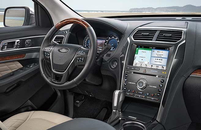 Sync 3 Ford Explorer 2019 Ford Explorer Ford Explorer Interior