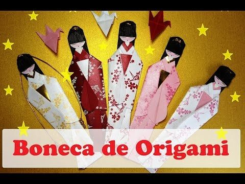origami maniacs 97 japanese dolls